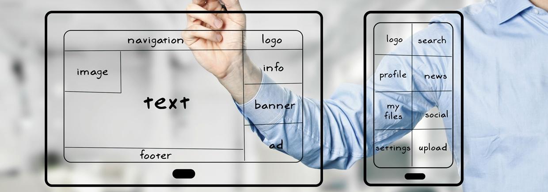 Optimierung der Website für Mobilgeräte